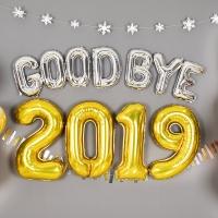 은박풍선세트 GOOD BYE 2019 [색상/사이즈 선택가능] 온라인한정