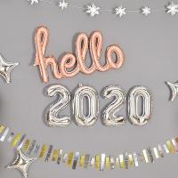 이니셜은박풍선세트 hello 2020 [색상/사이즈 선택가능] 온라인한정