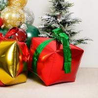 4D 사각은박 크리스마스선물 레드