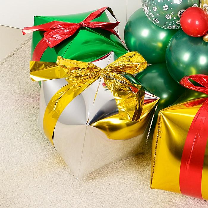 4D 사각은박 크리스마스선물 실버