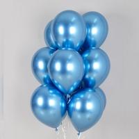 헬륨풍선 리플렉스 블루 10개묶음