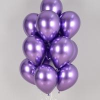 헬륨풍선 리플렉스 바이올렛 10개묶음