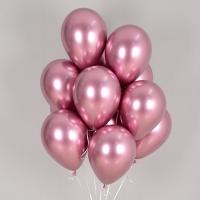 헬륨풍선 리플렉스 핑크 10개묶음