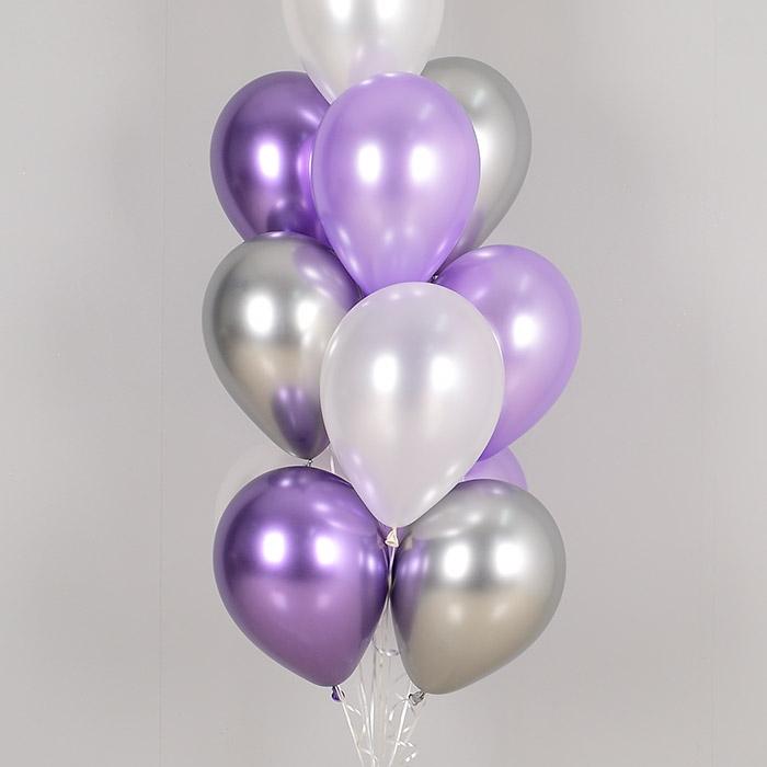 헬륨풍선 리플렉스 바이올렛톤 10개묶음