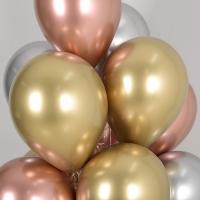 천장풍선세트 리플렉스 3색혼합 (풍선20개+컬링리본+스폰지닷) 온라인한정