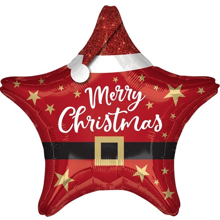[Anagram] 은박 산타 크리스마스스타 19인치