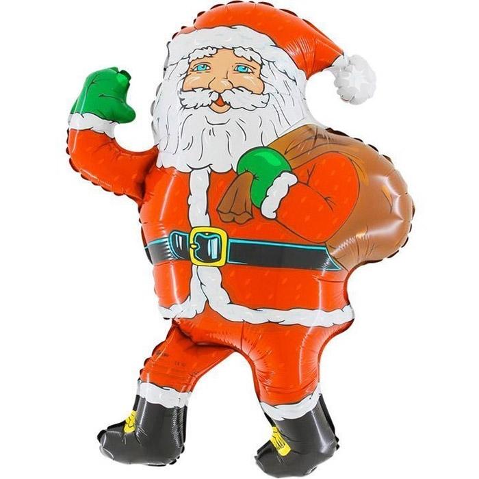 [GRABO] 은박 레트로감성 산타